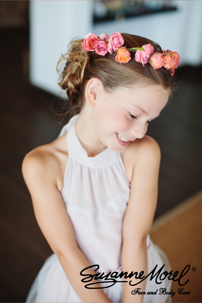 The Perfect Childrens Hair And Makeup Look In Los Cabos
