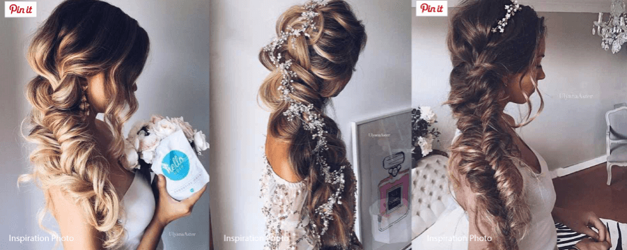 Bohemian Style Hair: Bridal Hair Inspiration In Los Cabos: Beachy Boho Braids