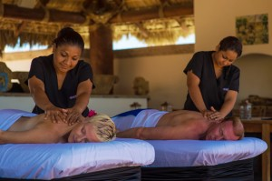In villa romantic couple massage Cabo Mobile spa