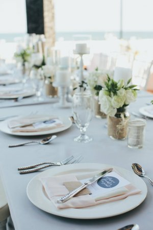 Shabby chic wedding decor Cabo Azul by Linens, Things and More...