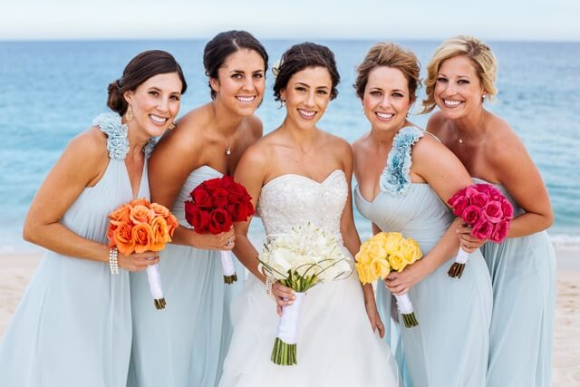 Bridesmaids & Bride - Copy
