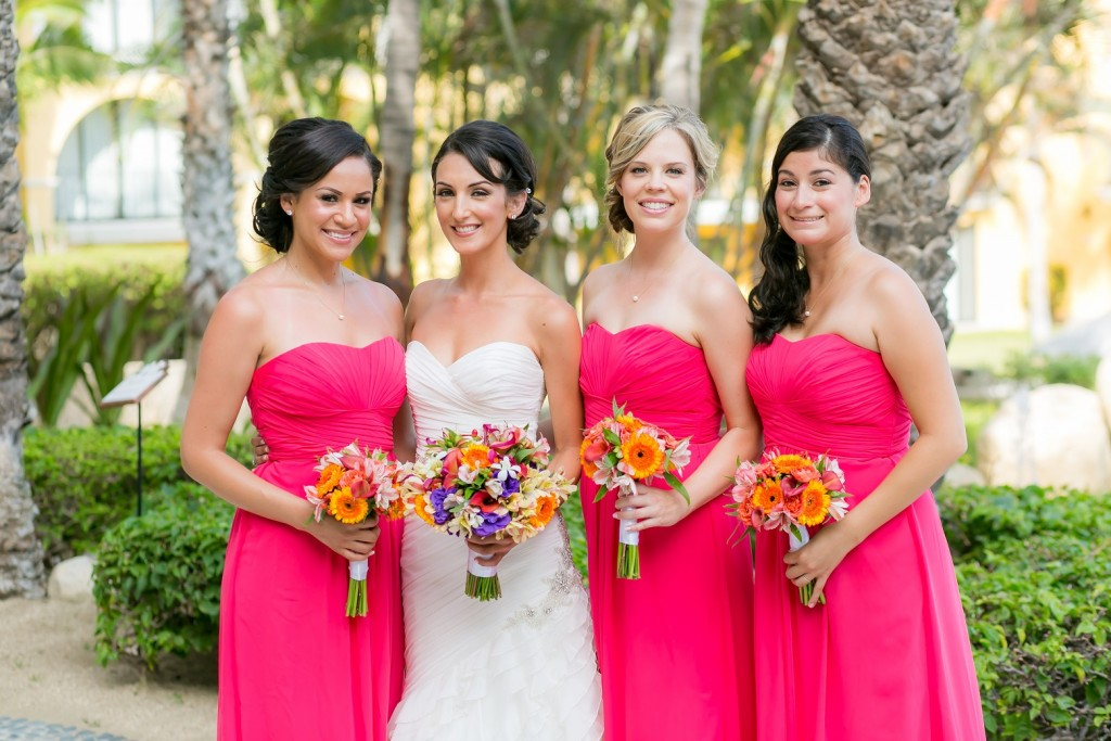 Cabo bridal party