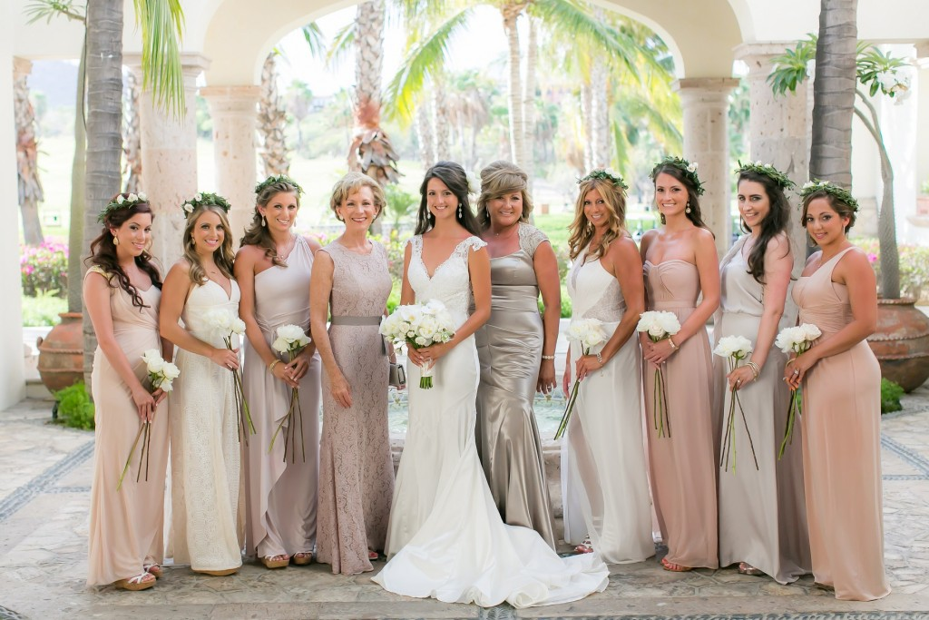 Cabo wedding hair and makeup
