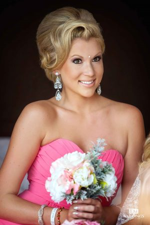 Bridal makeup by Suzanne Morel