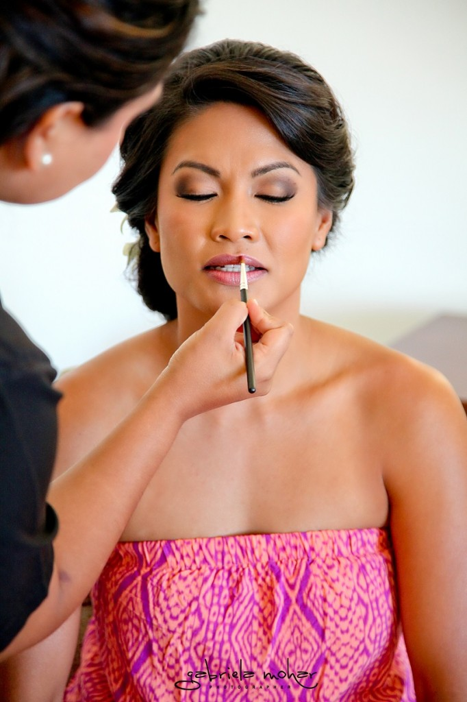 Exotic Wedding Makeup : Exotic Cabo Wedding Make-up at Cabo del Sol - Suzanne Morel