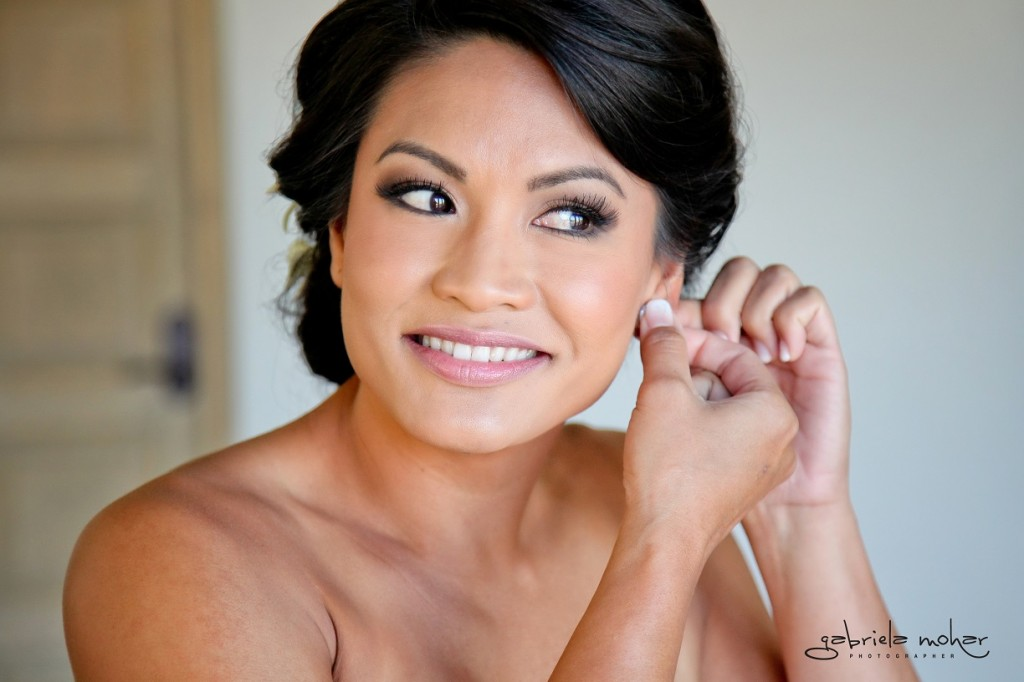 Cabo wedding makeup