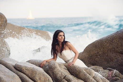 Cabo trash the dress