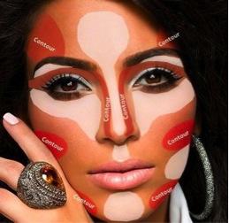 correction contour for wedding makeup