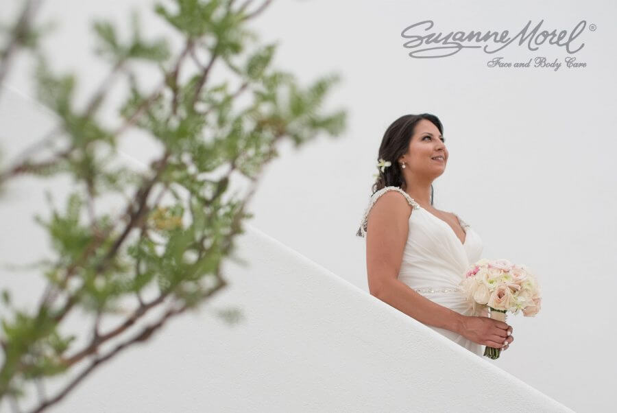 Bride Hair and Makeup Beach Cabo Wedding Private Villa