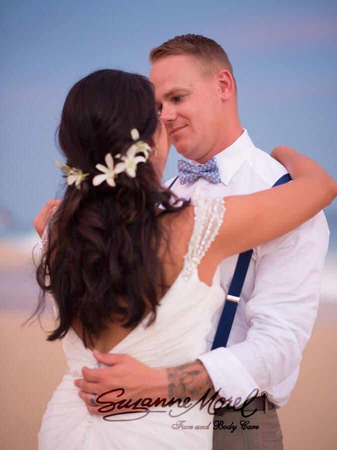 Bride Hair and Makeup Beach Ceremony Cabo Wedding Private Villa 2