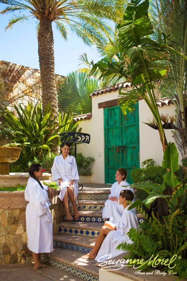 Spa bachelorette party Cabo Wedding Private Villa