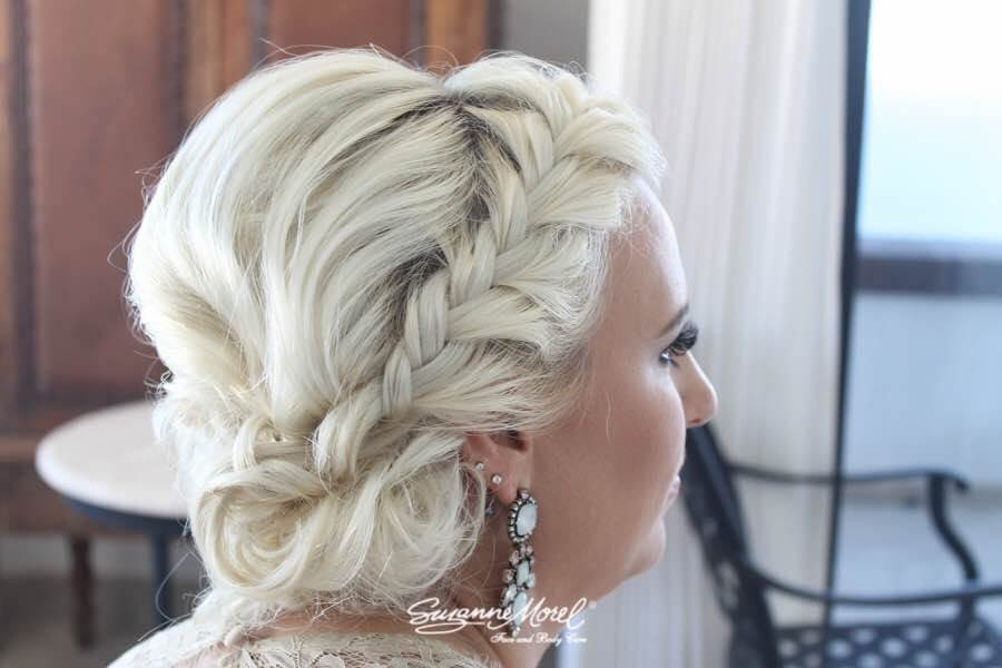 Cabo wedding hair braid