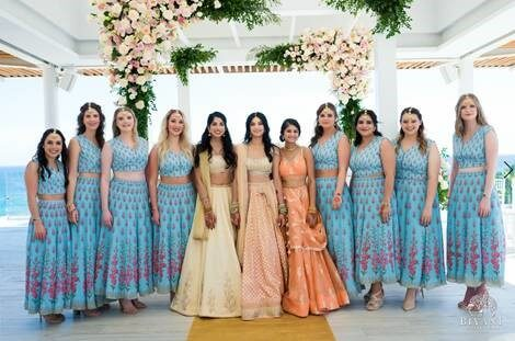 Destination Hindu Wedding in Los Cabos